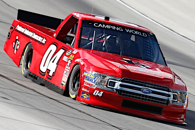 Cory Roper on track at Texas Motor Speedway.
