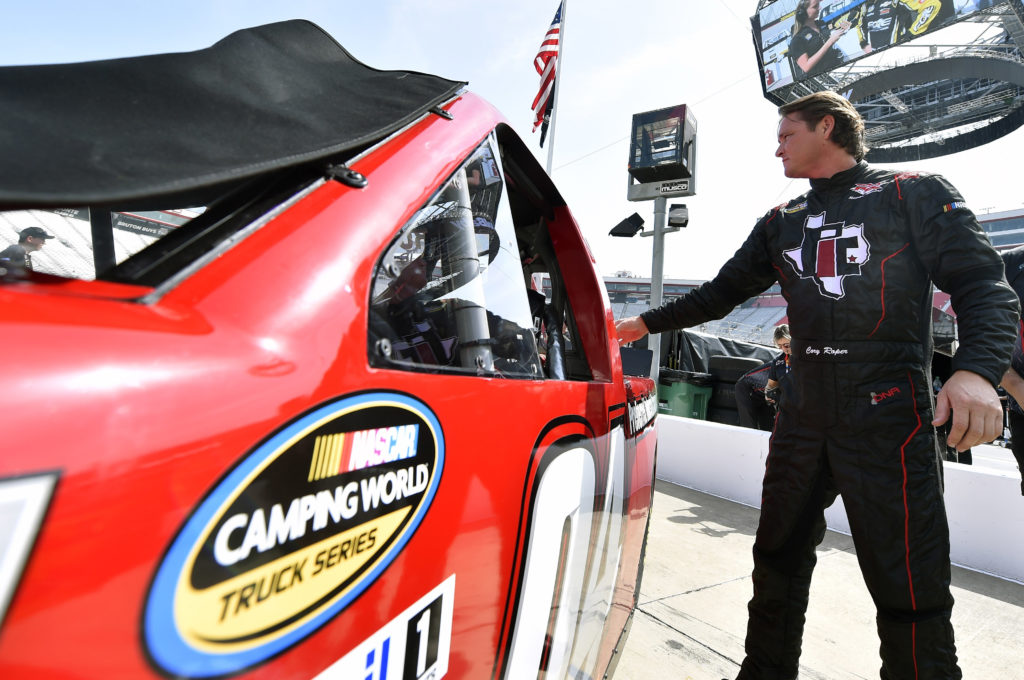 Top 12 Finish Cory Roper at Texas Motor Speedway