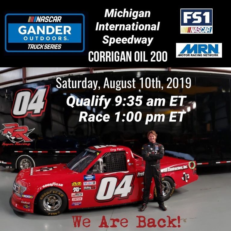 NASCAR Gander Outdoors Michigan International Speedway