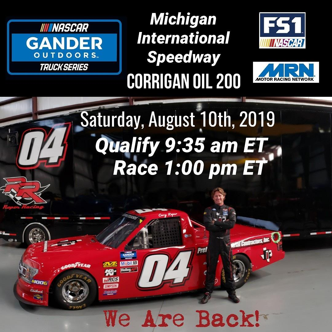 Nascar Gander Outdoors Truck Series -Michigan International Speedway