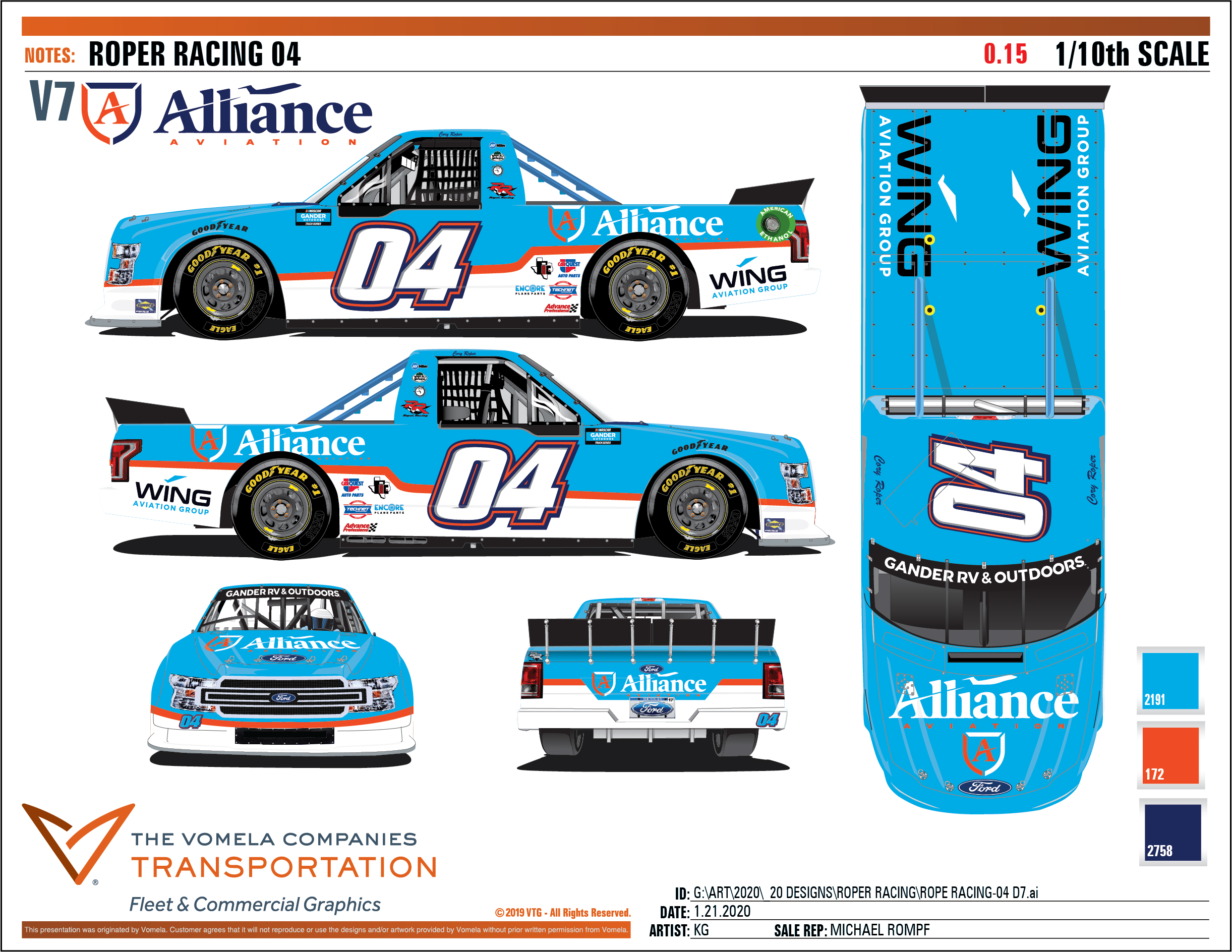 Driver Cory Roper & Roper Racing Team Builds Partnership with Alliance Aviation and its family of brands for Daytona NextEra Energy 250!