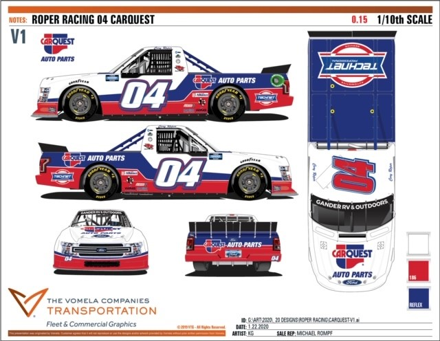 Carquest and Roper Racing Team