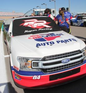 Las Vegas Motor Speedway Strat 200 Race Report for Roper Racing No 4 CarQuest Auto Parts
